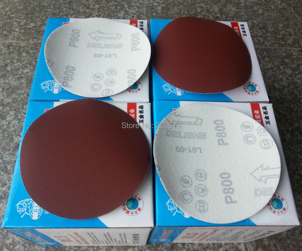 acheter 40 pc rond rouge du papier de verre flocage auto adh sif papier de. Black Bedroom Furniture Sets. Home Design Ideas