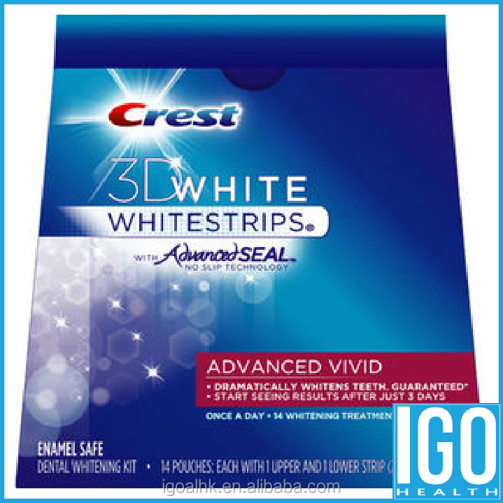 Crest 3D White Whitestrips advanced VIVID 14 Pouches 28 Strips wholesales