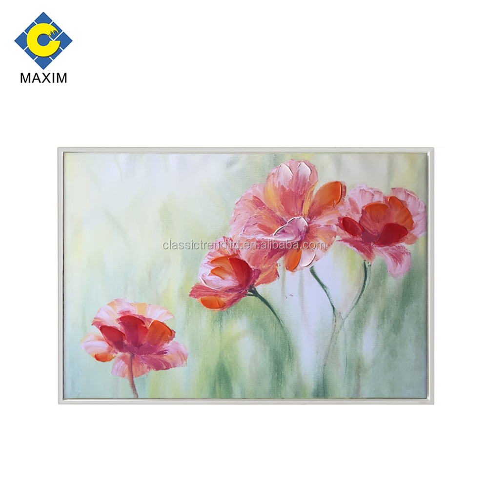 Dreamlike Beautiful Flower Paintings Designs Wall Hanging Home Decor