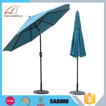 wholesale 2 7m big durable parasol windproof garden umbrella buy big umbrella garden