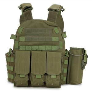 Military Bulletproof vest with MOLLE web strips on front and back NIJ 0101.06 Certified