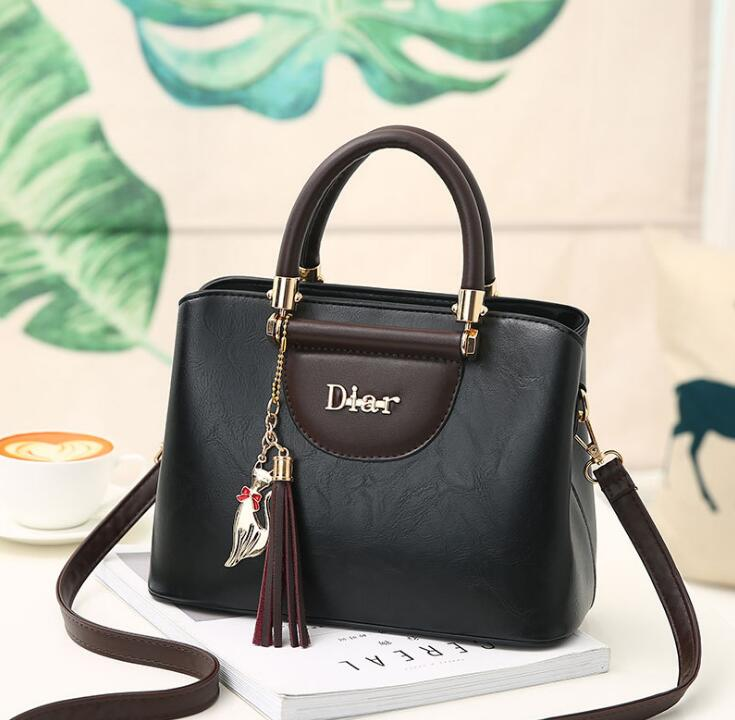 Guangzhou factory wholesale price ladies bags many color branded luxury women handbag
