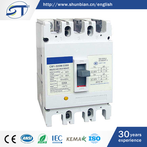 SHUNTE China Cheap Price 50KA 225A 800V MCCB Molded Case Circuit Breaker