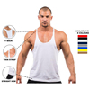 Men new blank wholesale clothing fashion gym stringer bodybuilding apparel singlet tank top