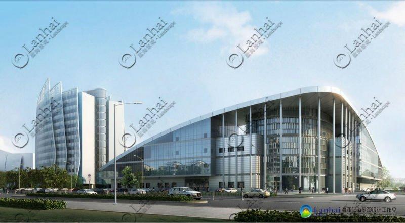Architectural Design Steel Structure Gymnasium Design