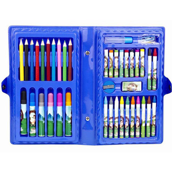 42pcs Pieces School Kids Crayons Pastels Markers Color Pencils Set For  Children With Pvc Box - Buy Colour Pencil Crayon Set,Art Coloring  Set,Colorful ...