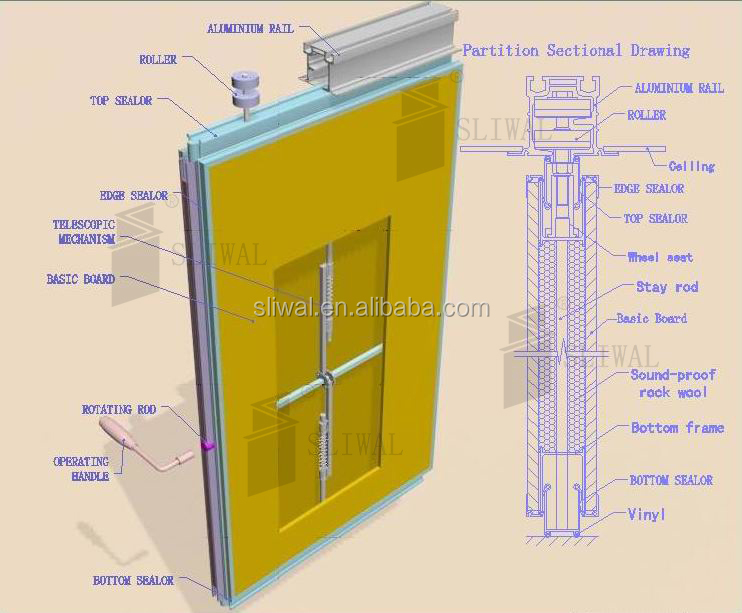 movable sound proof partition wall movable sound proof partition wall suppliers and at alibabacom