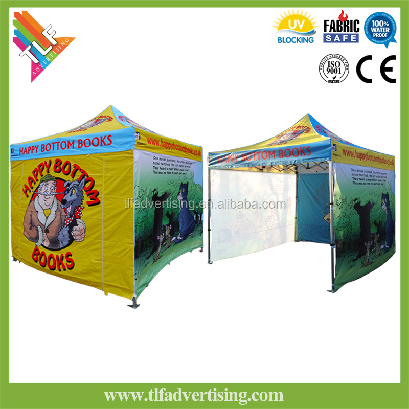 Professional custom steel frame tailgate tent canopy