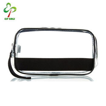 Travel Clear Plastic Pvc Zipper Cosmetic Pouch Transpa Makeup Bag Product On Alibaba