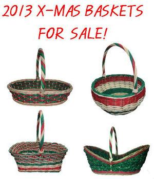 Christmas Baskets Are For Sale! - Buy Rattan Basket Product on ...