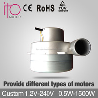 Custom 1.2V-240V 0.5W-1510W motor carbon filter replacement for vorwerk