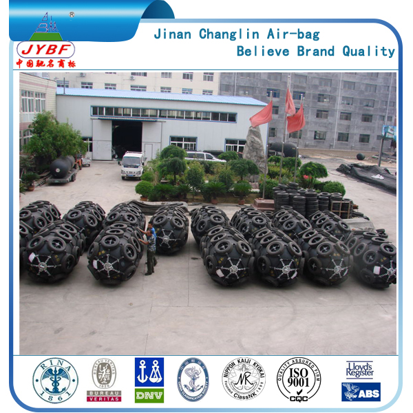 For UAE market marine rubber dock fenders