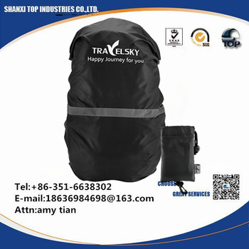 9bfb97a80a77 Customized Outdoor Reflective Waterproof Backpack Rain Cover - Buy ...