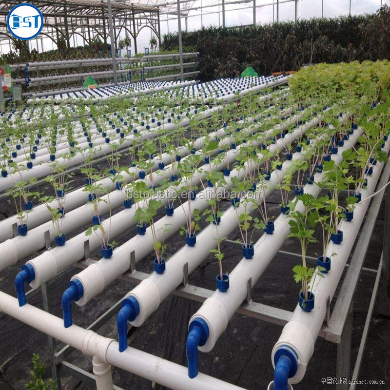 PVC pipe plant vegetable nft hydroponic system