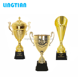 Factory Hot Selling OEM Custom Metal Trophy Cups Award