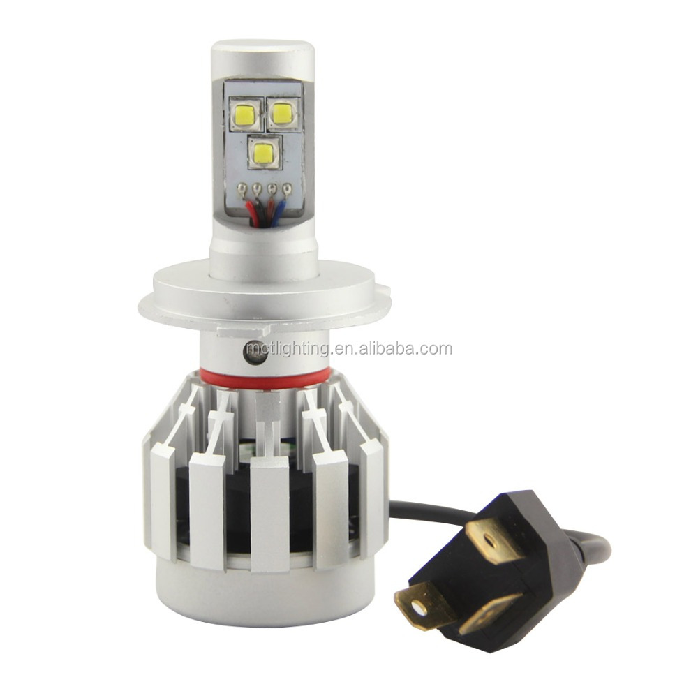 1x Pair 6000LM 30w C ree Chips H4 Led Headlight Lamp Hi/Lo Auto Led Car Headlight Bulbs HB1 9004 HB5 9007 Led Headlight Bulb