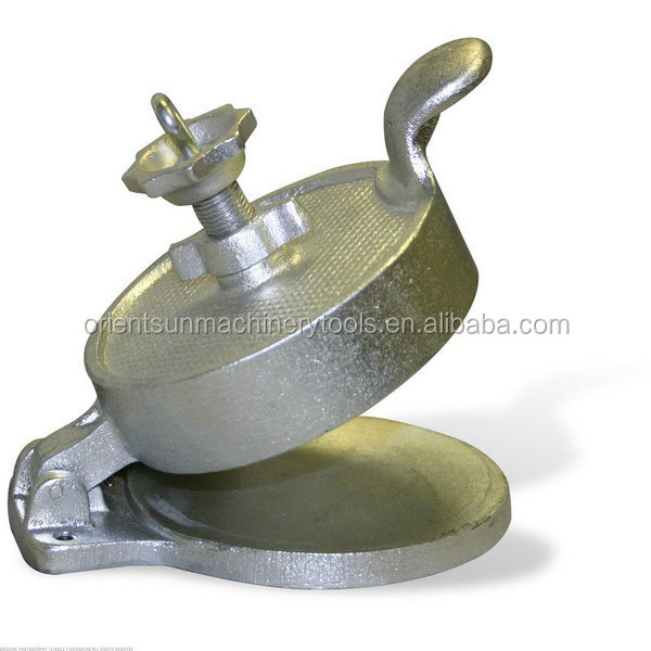 Cast Iron Adjustable burger Meat press