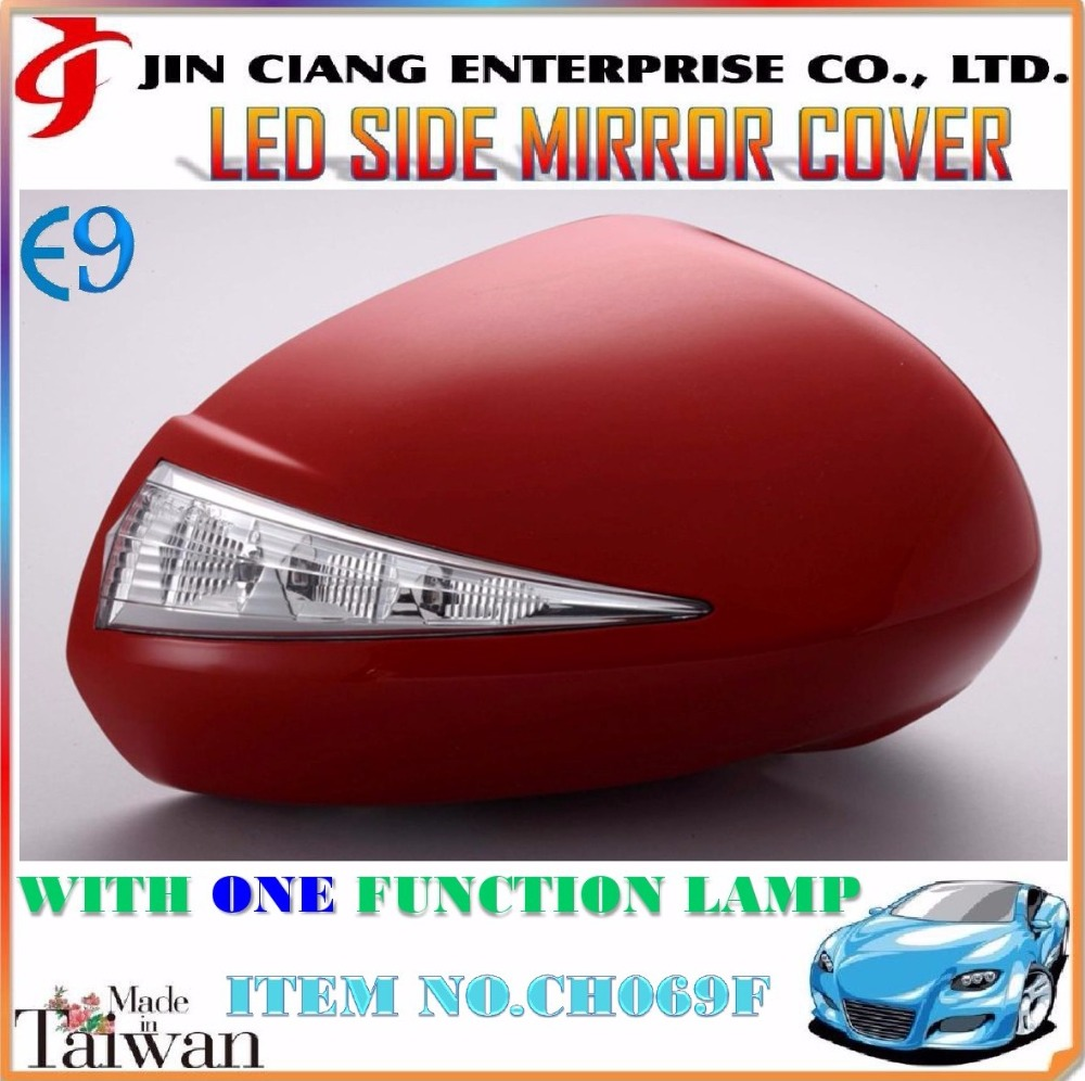 Hot products FOR HONDAA FIT GD1 GD2 JAZZ 2007 LED SIDE MIRROR COVER