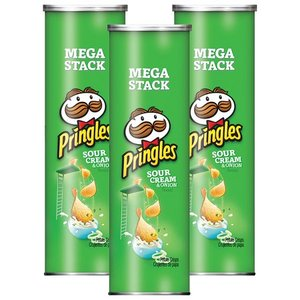 BUY PRINGLES Sour Cream & Onion 156GRM Potato Chips