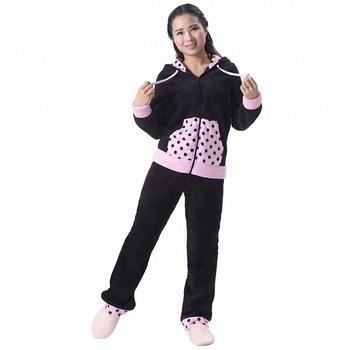 f8f5f955f424 Wholesale Adult Fleece Jumpsuit Women Pijama - Buy Women ...