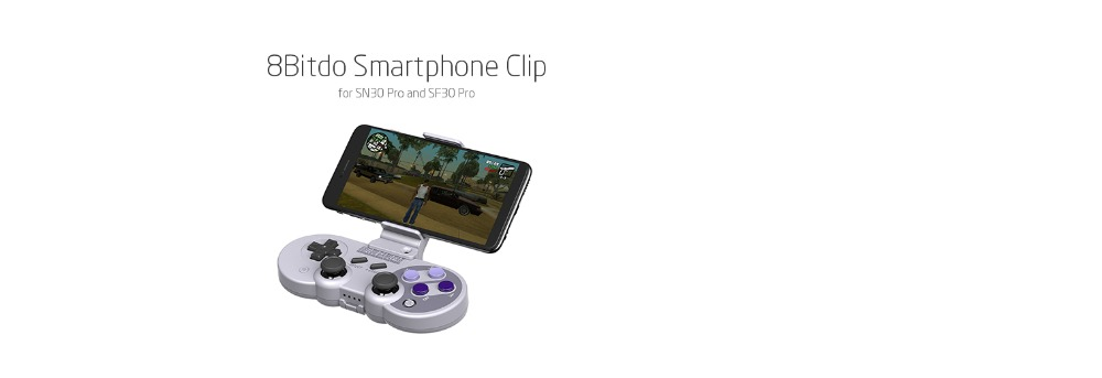 8Bitdo Smartphone Clip for SN30 Pro SF30 Pro Gamepad 17
