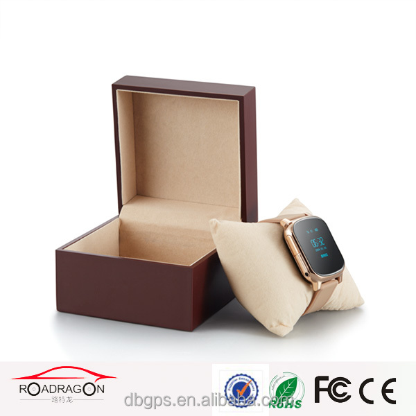sim card gps tracker watch for kids TK-4W support google map tracking
