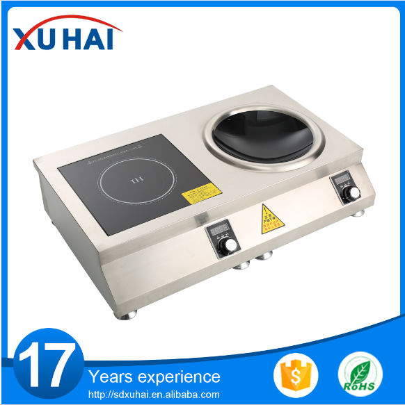3500w Stainless Steel Commercial Induction Cooker For