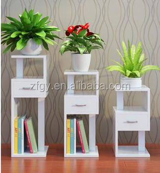 Living Room Wooden Flower Arrangement Stands