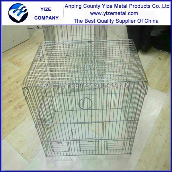 Pet cage wire panels