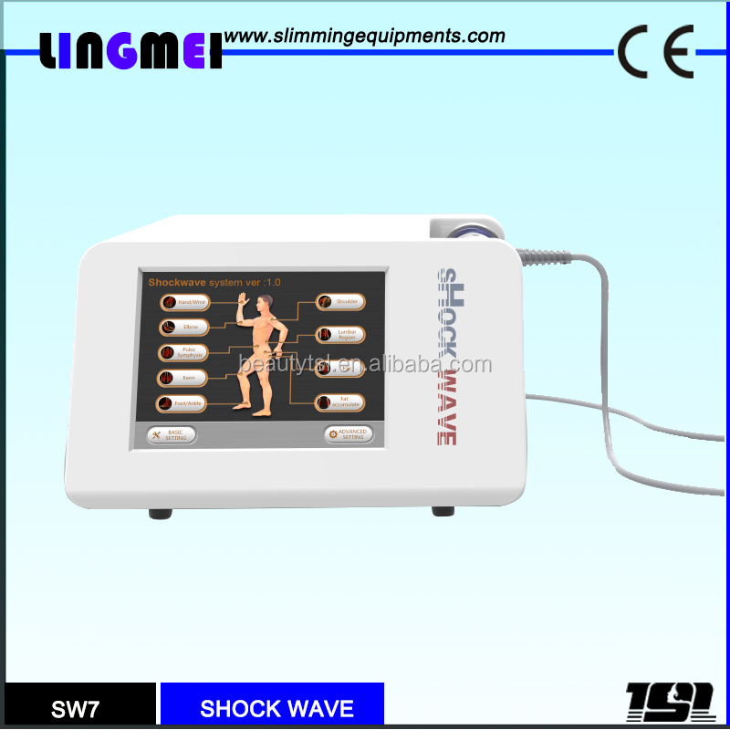 Hot sale low frequency pulsed shock wave magnetic electronic therapy medical device