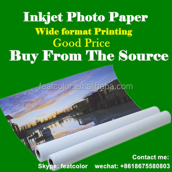 Professional Inkjet Photo Paper Roll Buy Photo Paper