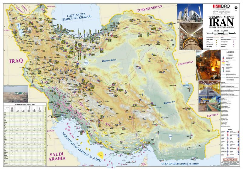 economic map of iran buy economic map product on alibabacom