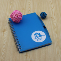 wholesale stationery notebook,A5 eco recycled paper notepads and pen