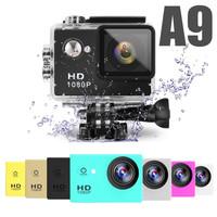 Cheapest A9 sport cam Waterproof Underwater 30 Diving 12MP Lens 1080p Full HD digital camera