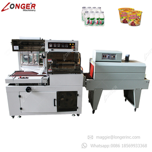Good Quality Plastic Film Shrink Sleeve Cutting Mobile Phone Carton Box Wrap Sealer Pet Bottle Automatic Shrink Wrapping Machine