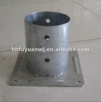 Hot Dip Galvanized Round Pole Anchor And Metal Pole Plate - Buy Ground Post  Plate,Pole Anchor Plate,Pole Ground Standard Plate Product on Alibaba com