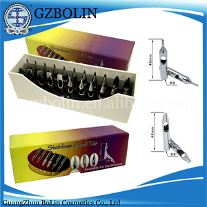 BerLin 22 Piece Set Stainless Steel Tattoo Tip For Tattoo