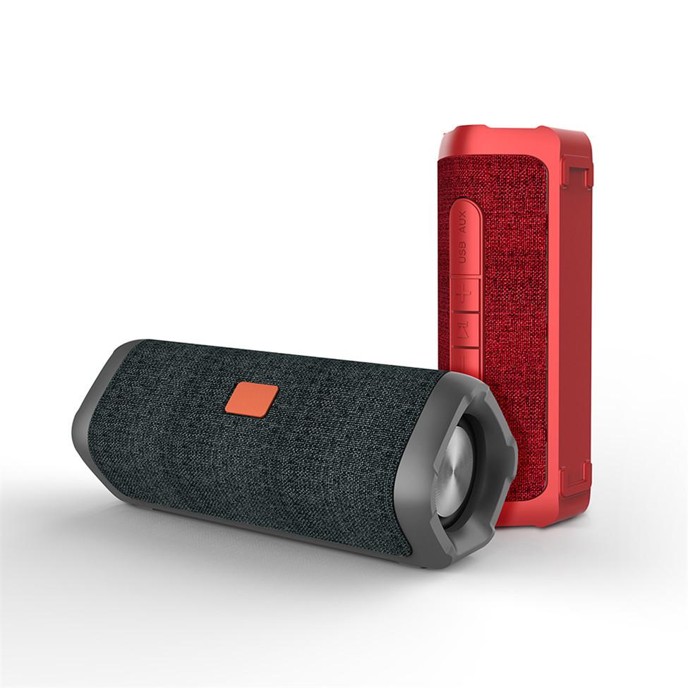 고품질 7 W * 2 방수 휴대용 TWS 블루투스 스피커 무선 충전 스피커