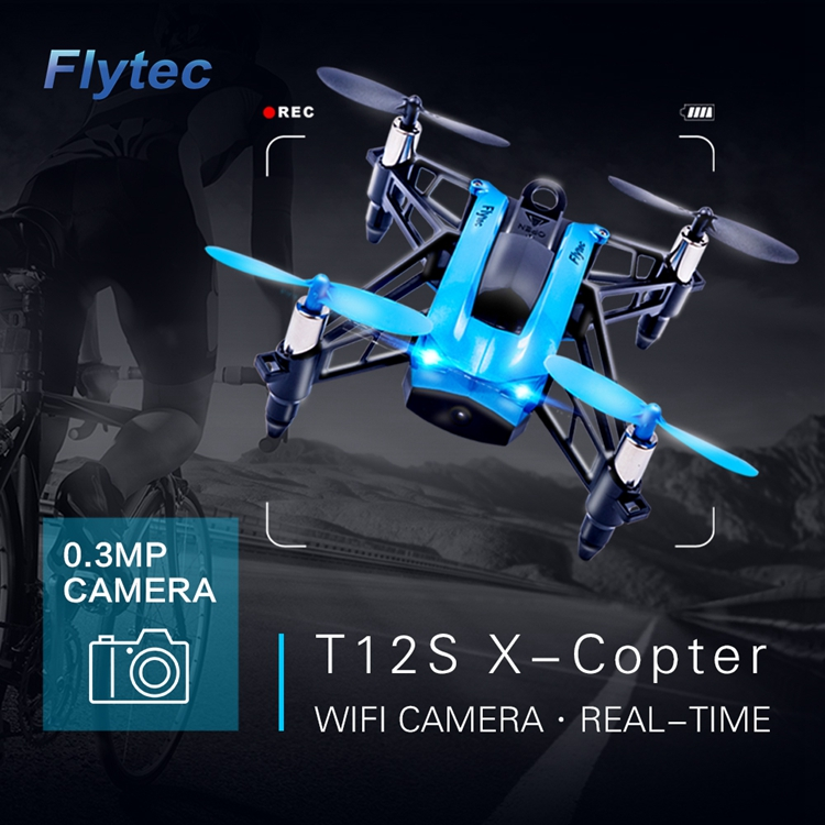 Flytec X-Copter T12S 4CH 6-Axis FPV WIFI Headless Mode Racing Quadcopter vs parrot mambo