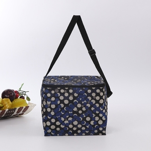 China promotional polyester school insulated lunch box bag set for adults