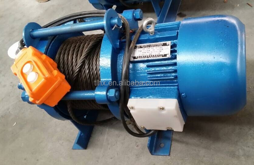 Lifting Winch 50m Wire Rope Winch Electric Winch 380v - Buy Lifting ...