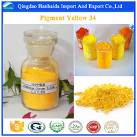 Top quality Medium Chrome Yellow CAS 1344-37-2 Pigment Yellow 34 with best price