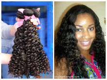sliky peruvian human hair spring curly virgin peruvian hair wholesale