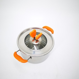 Wholesale Stainless Steel Palm Restaurant Non-Stick Cookware