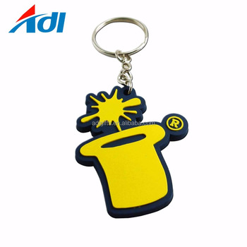 Wholesale Custom Pvc Logo Keychain For Sale