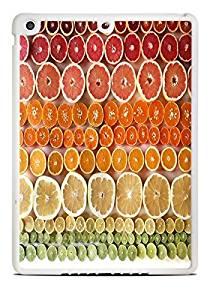 Candy Fruit Lemons Oranges Grapefruit White iPad Air Silicone Case