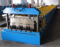 Hebei Manufacturer steel structure metal deck roll forming machine steel floor decking /cold roll former machinery