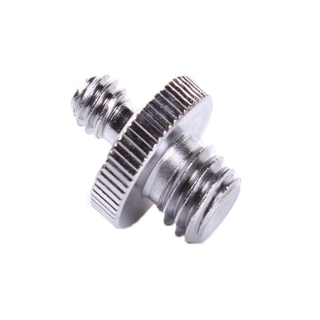 CLOVER 3 Pieces Metal 1//4 to 3//8 Reducer Bushing Convert Screw Adapter for Tripod Monopod Ballhead DSLR SLR
