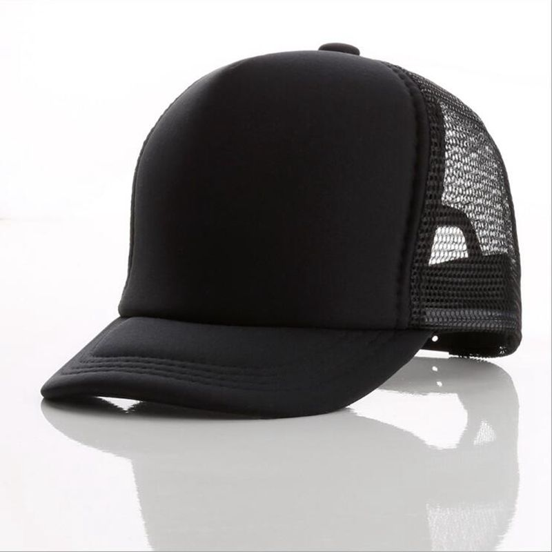 Wholesale Custom 5-Panel Foam Mesh Trucker Cap And <strong>Hat</strong> With Screen Printed Logo