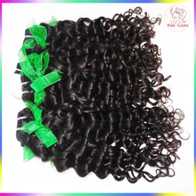 Sew in Cambodian Unprocessed Natural Human Hair Extensions Italy Curly Hairstyles Wholesale Factory Price